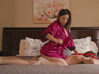 Abella Danger seduces a hot fellow for a cock riding session