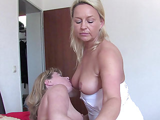 Insatiable mature women cannot resist hot sex sessions
