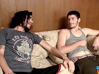 Devin Reynolds and Daniel Delong love jerking off together