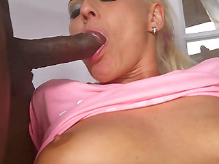 Simony Diamond is a hot blonde in need of erected black cocks
