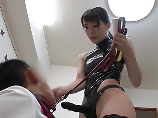 Airi Suzumura is a kinky chick who loves to make a dick stiff