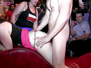 Big booty Dafne Alex doggystyle banged hardcore in public