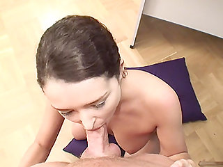 Giulia Grandi is a hot brunette craving an anal adventure