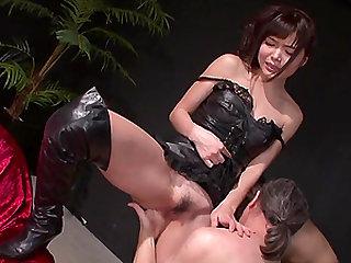 Horny Megumi ShinoÒ's Teen Holes Fucked With Sex Toys