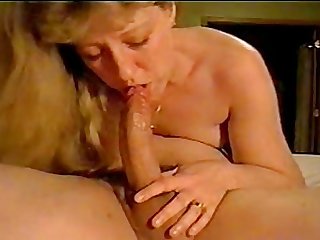 She loves it when I toy her hairy pussy while she sucks greedy my dick