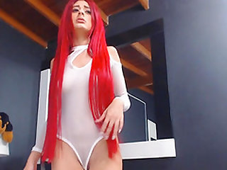 My Redhead Friend Fucked her Pussy With Her Toys
