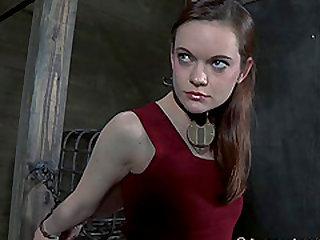 Hazel Hypnotic pussy ravished doggystyle in BDSM Scene