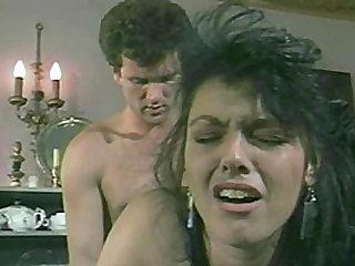 Barbara Dare cannot resist her lover's pulsating member