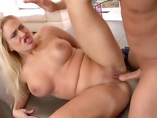 Hot blonde and new MILF Angel Allwood isnt quite ready to have vaginal