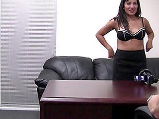 Stiff love tool for horny babe Lena's tight pussy hole