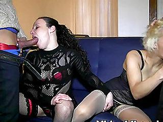 Fantastic swinging action with a couple Bruno y Maria and Fenyx Santos