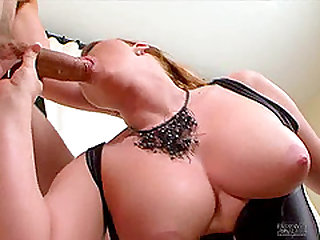 Big ass chubby in lingerie banging on monster cock hardcore