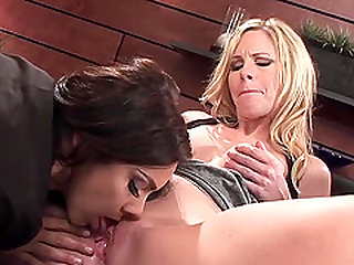 Steamy face sitting with hotties Aimee Addison and Tiffany Tyler
