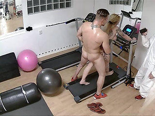Tread mill work out turns into  one hard Doggystyle