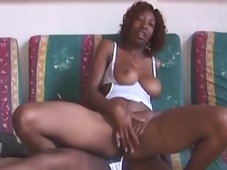 Drunk African real girlfriends in amateur sex party swapping partners for blowjob with cock ride