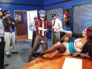Brazzers - Team Building Sexcercise