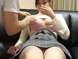 Yuuhi Kotoka takes off her skirt for an amazing sex game