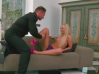 Dalma Albert is one horny Russian nympho of a blonde