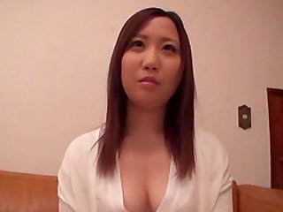Asian honey enjoy making her pussy wet with various toys