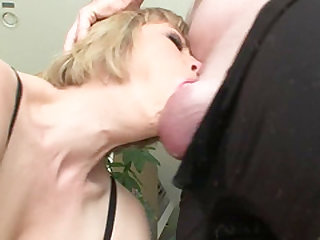 Adrianna Nicole is a horny MILF who is always ready to suck any