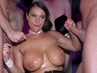 Sexy Susi gets deep anal banged at our party orgy