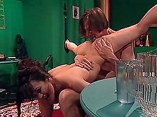 Randy lover is curious about Asian beauty Asia Carrera's warm hole
