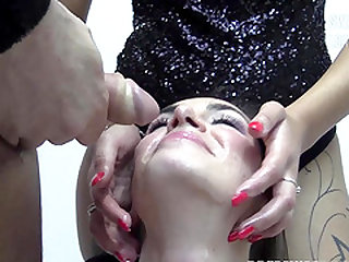 Nicole swallows 59 huge mouthful cumshots