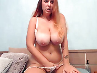 Adorable Huge Boobs Whore Showing Her Goods