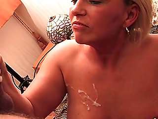 Hot mature get some good pussy action with a horny guy