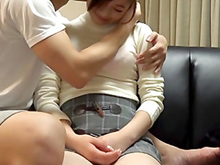 Yuuhi Kotoka attacked by a hunk for a hot shagging game