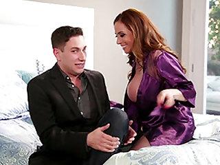 Busty MILF Ariella Ferrera fucked hard by a good-looking man