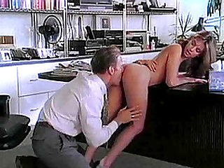 Pj Sparxx ravished on a desk by a pussy craving fellow