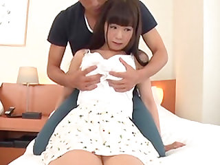 Shy brunette chick attacked by a nasty hunk for a shag