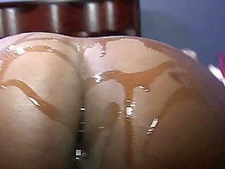 Chocolate fucked by hairy arab