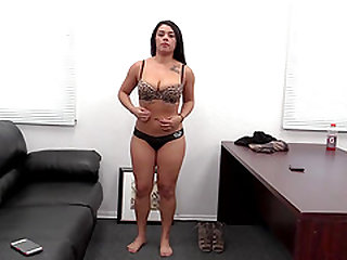 Brea is a sexy brunette who likes a dick in her shaved pussy