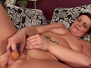 Rina is a mature lady who knows how to use massive love toys