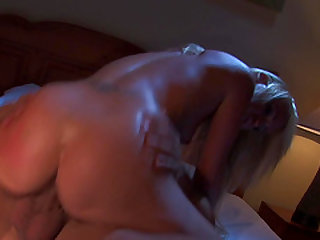 Unforgettable cowgirl ride with his lecherous honey Carla Cox