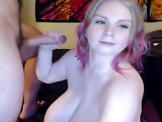 French amateur blowjob cumshot huge tits blonde bbw