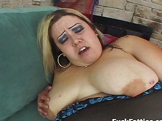 BBW Monique Plump Pussy Fucked