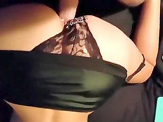 Hot wife takes four loads in her pussy from her hubby.