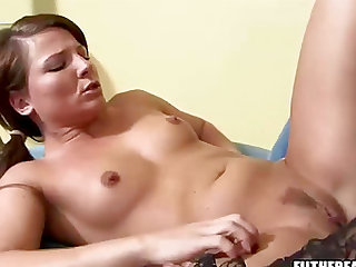 Dee Rida and Casey Cums love being naughty with a strap-on