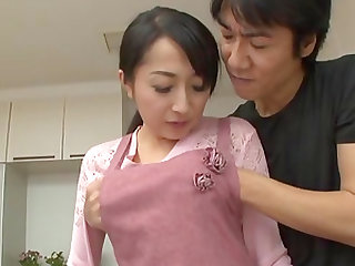 Takita Eriko is a naughty wife who loves being fucked hard