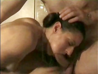 My wife Sally never gets enough of my large dick.