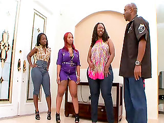 Marshae has a great time with her insatiable black lover