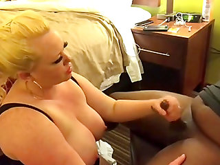 First interracial experience for hot milf
