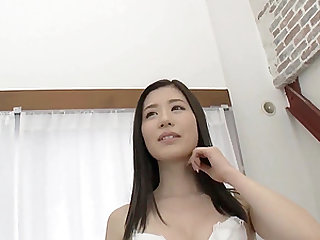 Oohinata Haruka is a pale beauty ready for a sex session