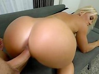 Top blonde in extra spicy sex scenes during hot POV