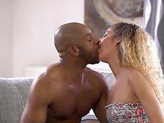Monique Woods screams with the biggest dick in her wet cunt