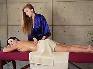 Massage romance with lesbian women in heats
