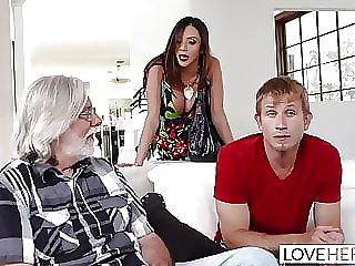 LoveHerFeet - Stepmom Wants My Cum On Her Feet